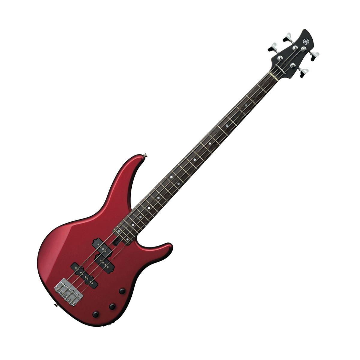 Yamaha trbx174 electric bass guitar red metallic at for Yamaha bass guitars