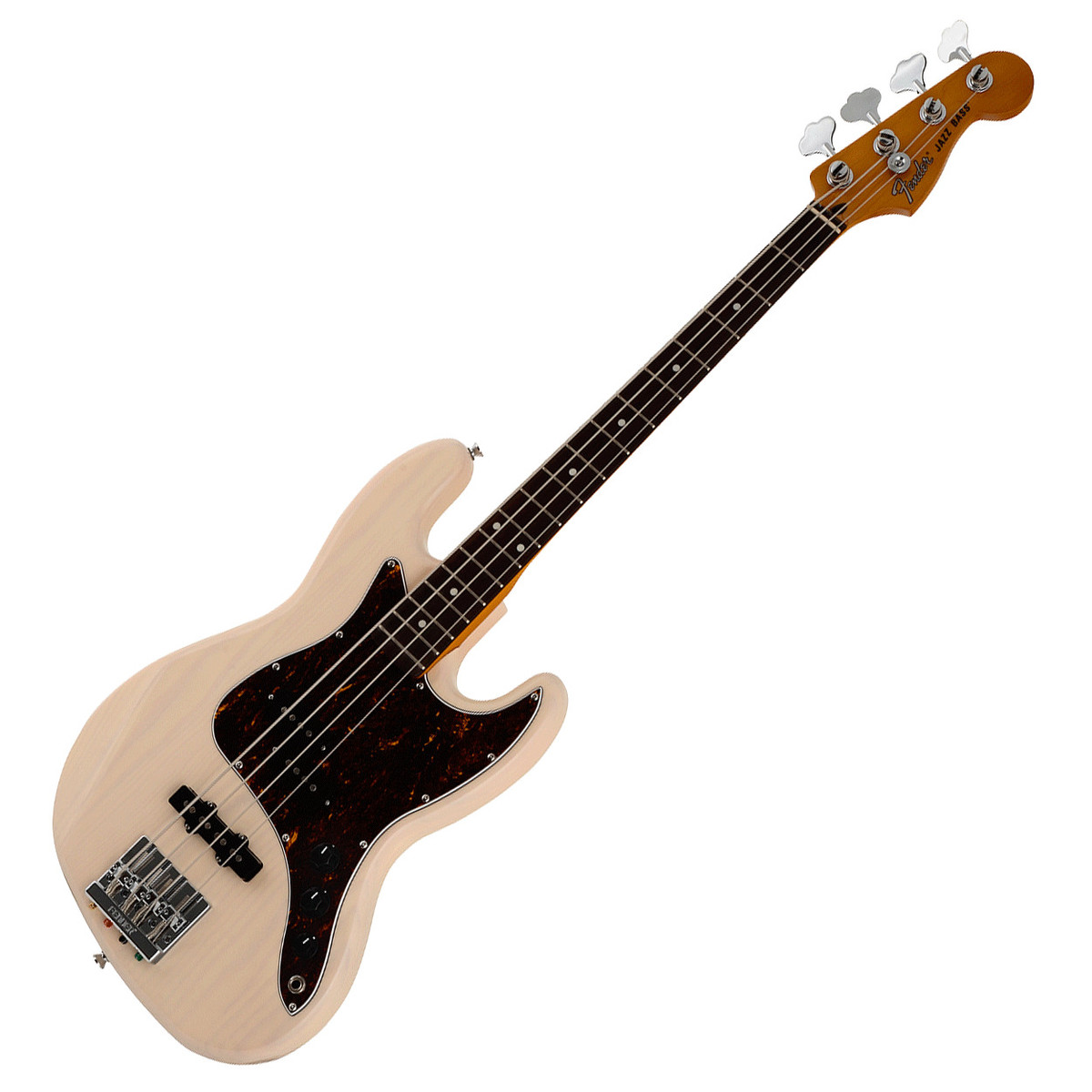 Fender Modern Player Short Scale Jazz Bass, RW, White