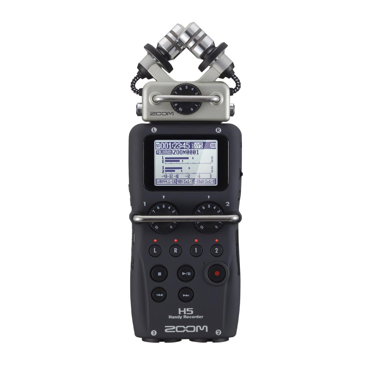 Zoom H5 Grabador Portátil con Cápsulas Intercambiables en Gear4Music.com