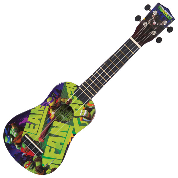 Teenage Mutant Ninja Turtles Ukulele Outfit, Mean Green