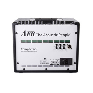 AER Compact 60 III Acoustic Guitar Amp, Black