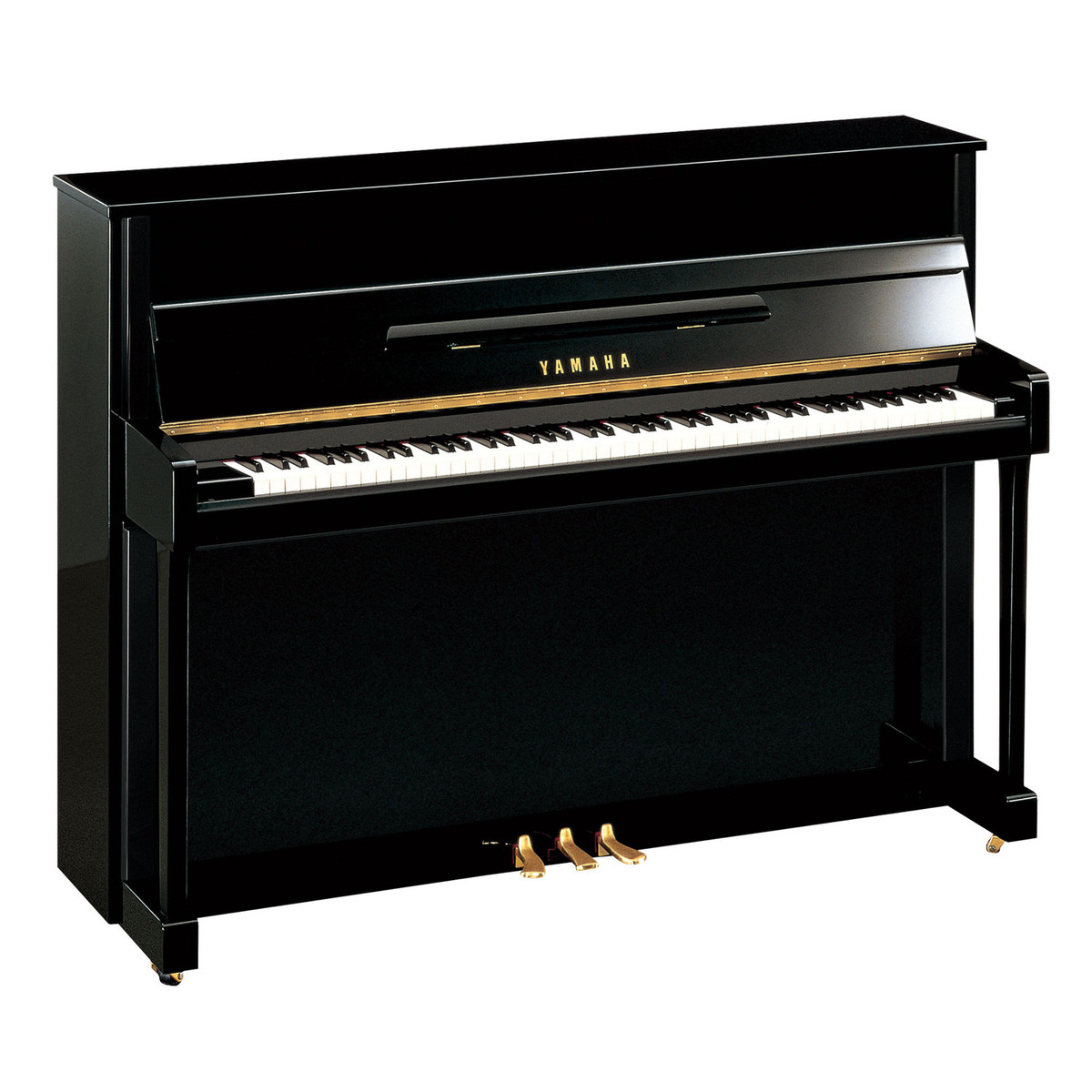 yamaha b2 silent upright piano polished ebony at gear4music. Black Bedroom Furniture Sets. Home Design Ideas
