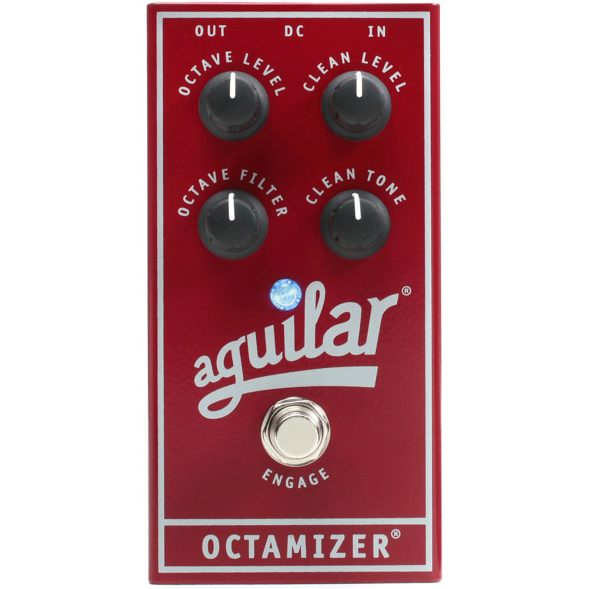 aguilar octamizer analog octave bass effects pedal at gear4music. Black Bedroom Furniture Sets. Home Design Ideas