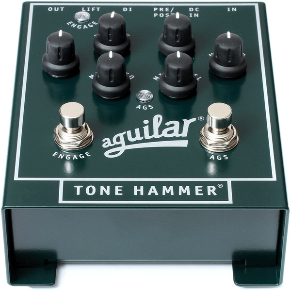 Aguilar Tone Hammer Preamp Direct Box Effects Pedal