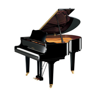 Yamaha GC1M Grand Piano, Black Polyester