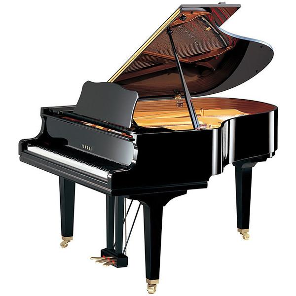 Yamaha GC2 Grand Piano, Black Polyester