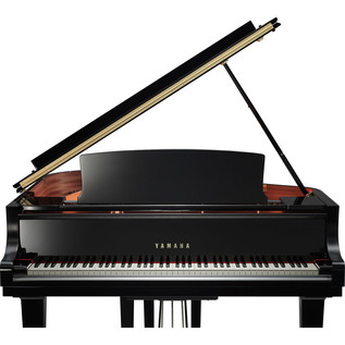 Yamaha CX1 Grand Piano, Black Polyester