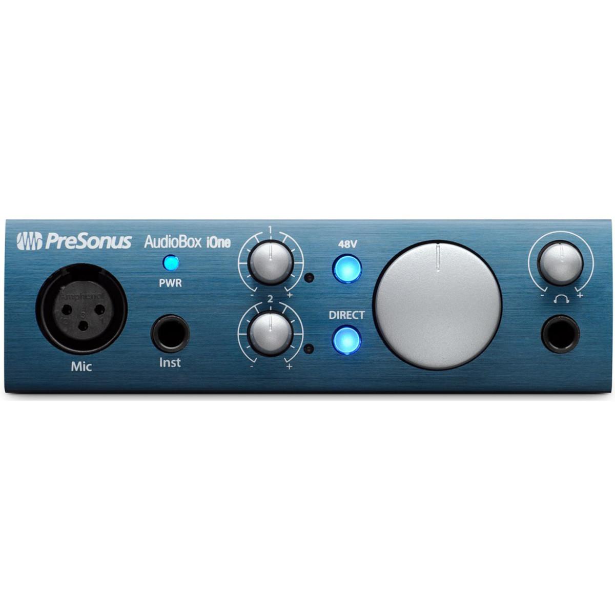 Presonus Audiobox Ione Ipad Usb Audio Interface