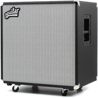 Aguilar DB Series 4x10 Speaker Cabinet, 4ohm Classic Black