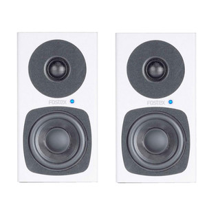 Fostex PM03-D Active Studio Monitors, White