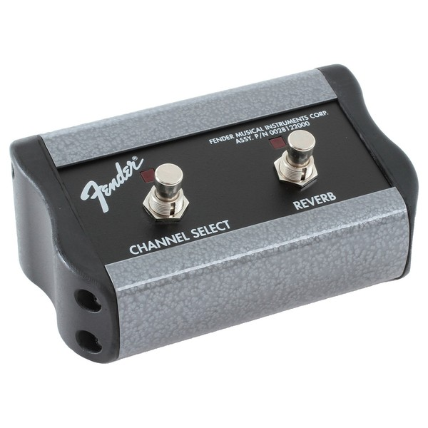 Fender 2-Button Footswitch: Channel/Reverb