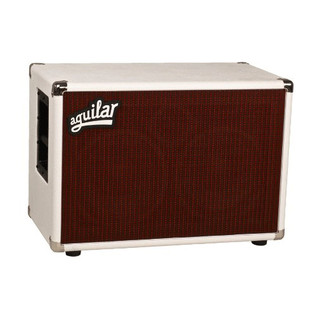 Aguilar DB Series 2x10'' Speaker Cabinet, 4ohm White Hot