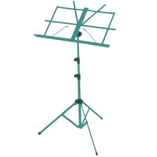 Percussion Plus PP613 Music Stand with Carry Bag, Green