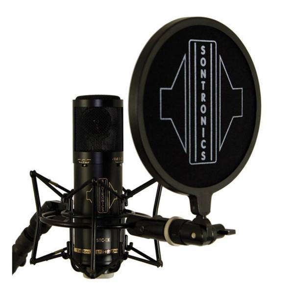 Sontronics STC-3X Condenser Microphone Pack, Black