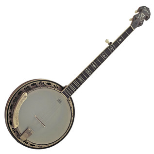 Ozark 5 String Banjo- Bronze Engraved