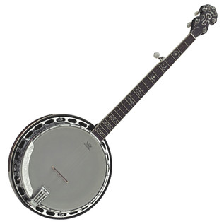 Ozark 5 String Banjo Natural Finish