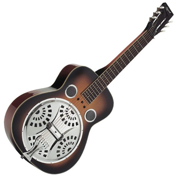 Ozark Resonator Guitar Wooden Body Square Neck