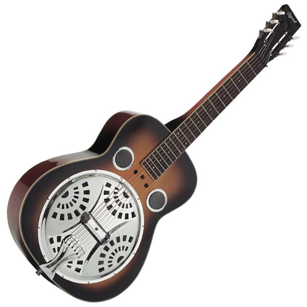 Ozark Resonator Guitar Wooden Body Square Neck