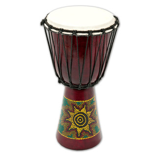 Percussion Plus PP6630 Sun/Rainbow Djembe 30cm (15