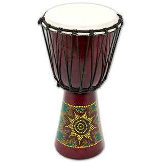 Percussion Plus PP6650 Sun/Rainbow Djembe, 50cm