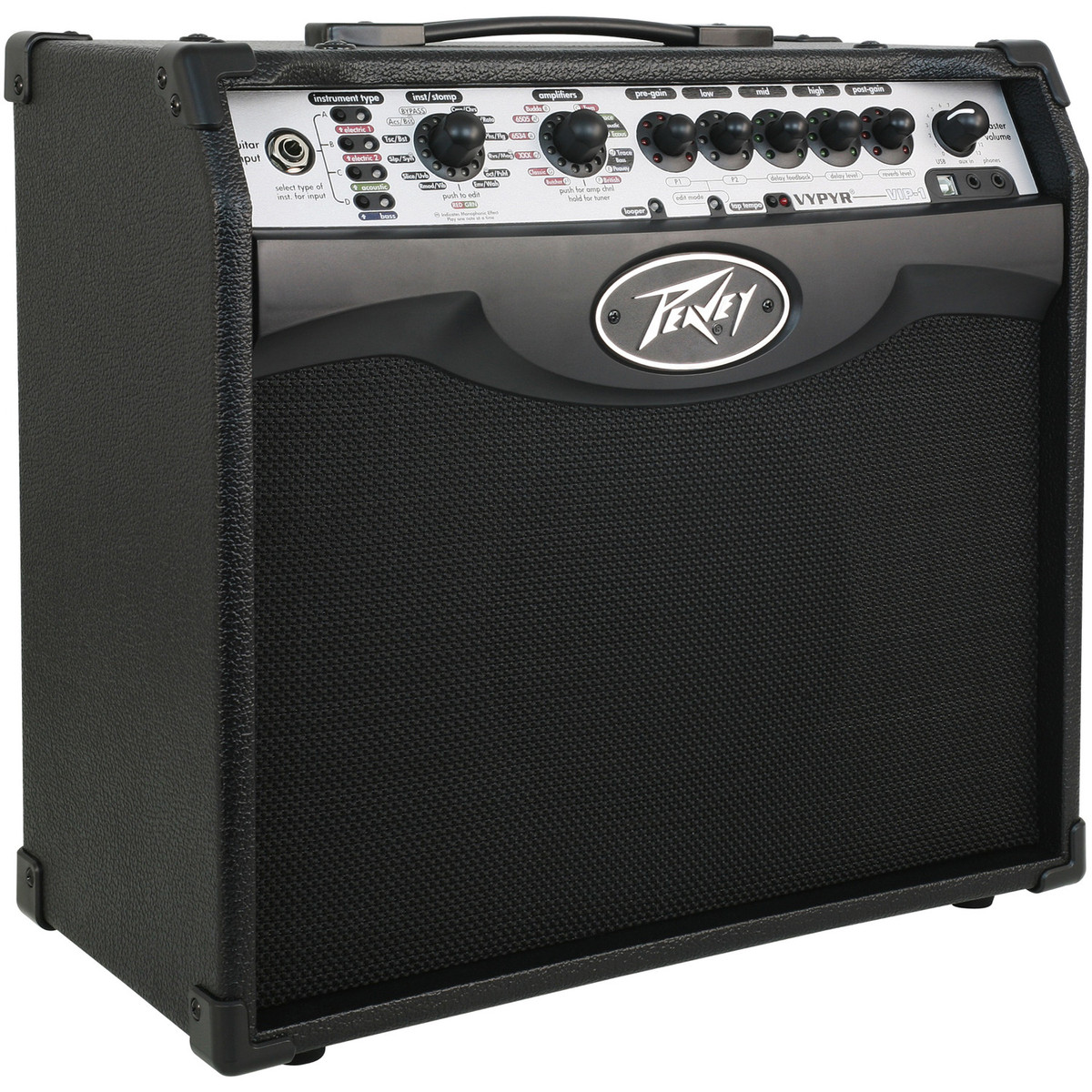 peavey vypyr vip 1 modelling combo amp at gear4music. Black Bedroom Furniture Sets. Home Design Ideas