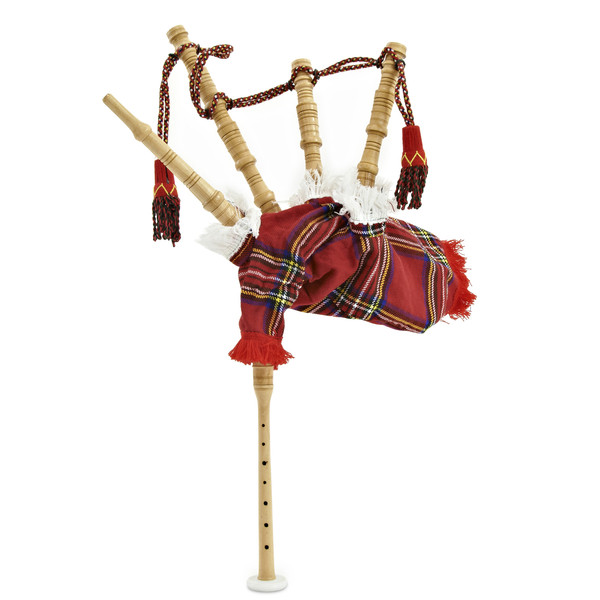 Chanter Bagpipes by Gear4music, Junior Royal Stewart