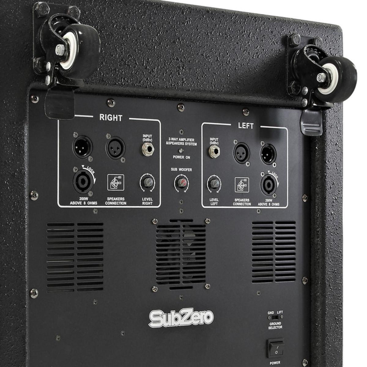 SubZero 500W 15