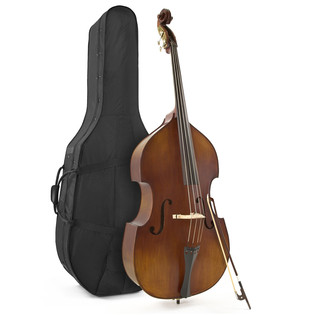 Archer 3/4 Size Professional Double Bass by Gear4music