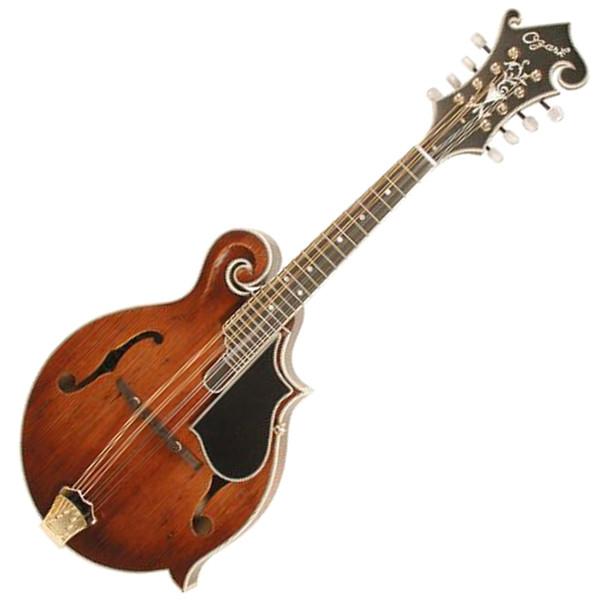 Ozark Mandolin F Model Deluxe Distressed