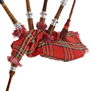 Bagpipes by Gear4music, Full Size Royal Stewart