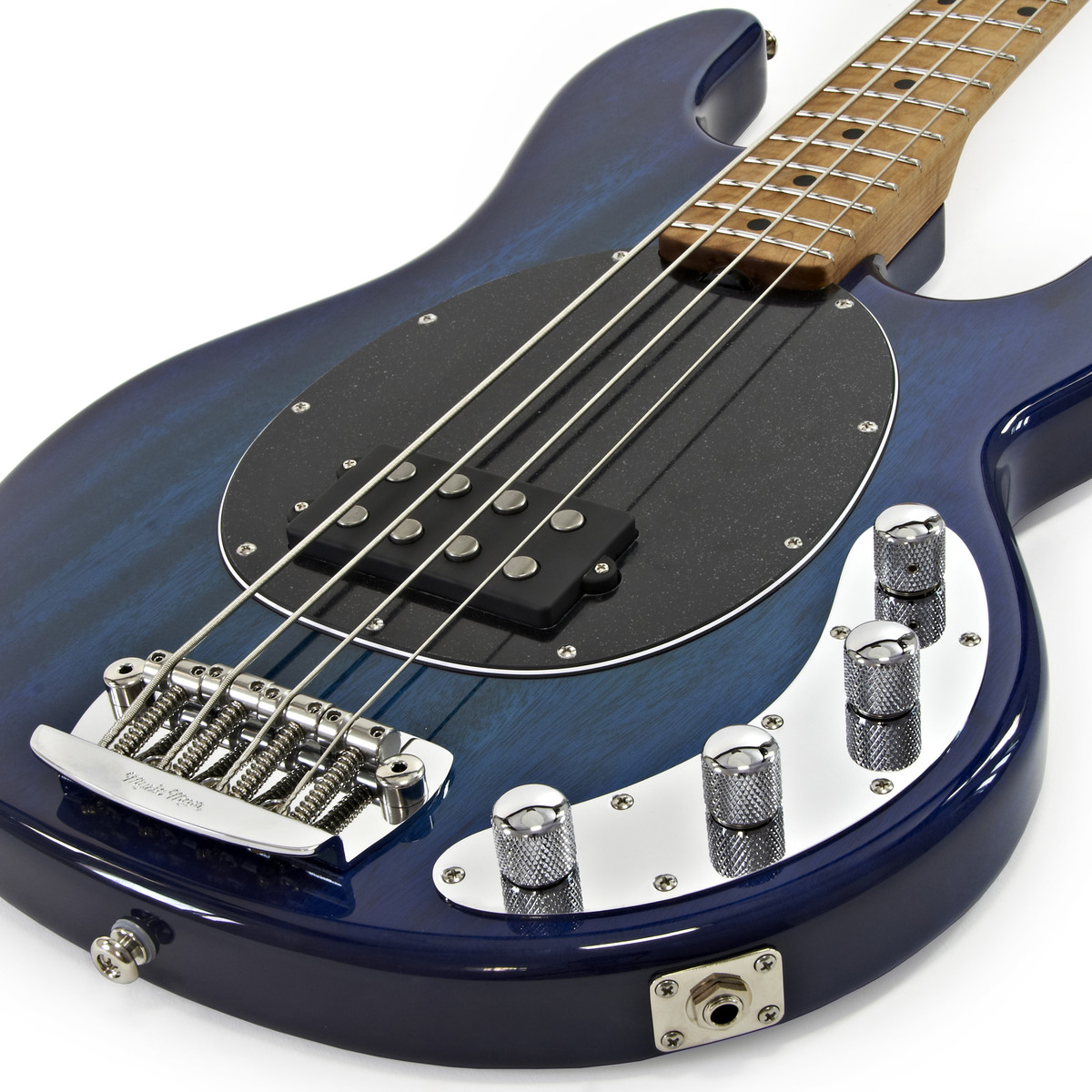 Music Man Stingray 3eq Bass Guitar Roasted Maple Neck