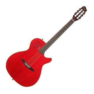 Godin Multiac Steel Duet Ambiance Red HG with Bag
