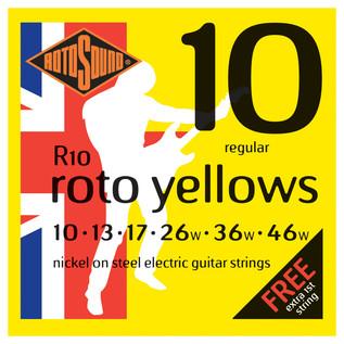 Rotosound R10 Roto Yellow, 10-46