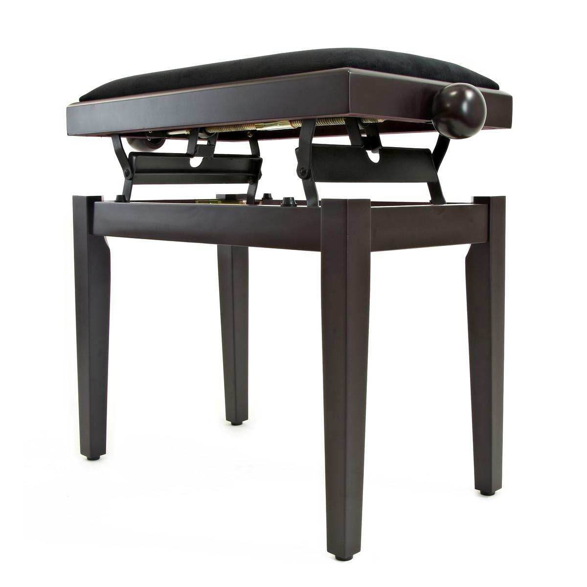 tabouret de piano r glable par gear4music palissandre comme neuf. Black Bedroom Furniture Sets. Home Design Ideas