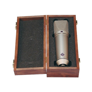 Neumann U87 AI Studio Mic Set, Nickel with FREE Monster XLR Cables