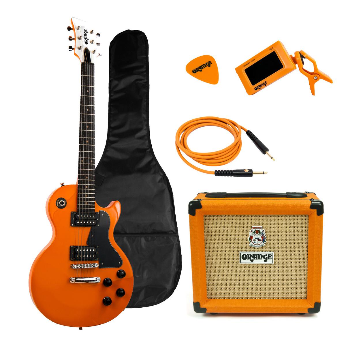 orange crush pix cr12l guitar and amp starter pack orange at gear4music. Black Bedroom Furniture Sets. Home Design Ideas