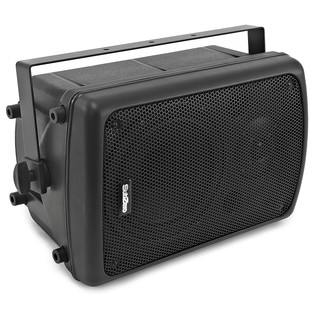 "SubZero 200W 8"" Active PA Speaker with Yoke Bracket by Gear4music"