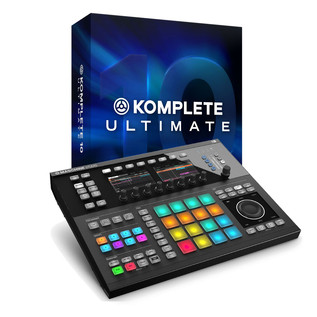 Native Instruments Komplete 10 Ultimate and Maschine Studio, Black