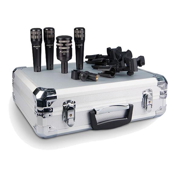 Audix DP4 Four Piece Drum Kit Microphone Set