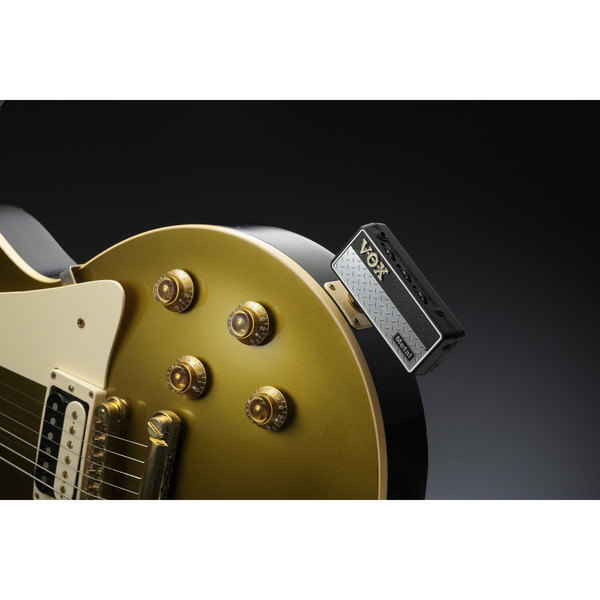 Vox amPlug 2 Guitar Headphone Amp, Metal