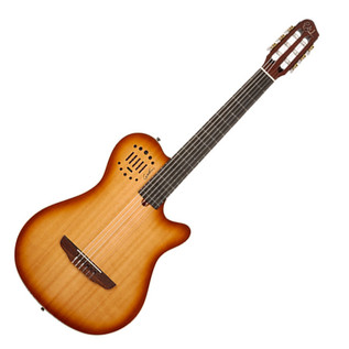 Godin Multiac Grand Concert Duet Ambiance Light Burst with Bag