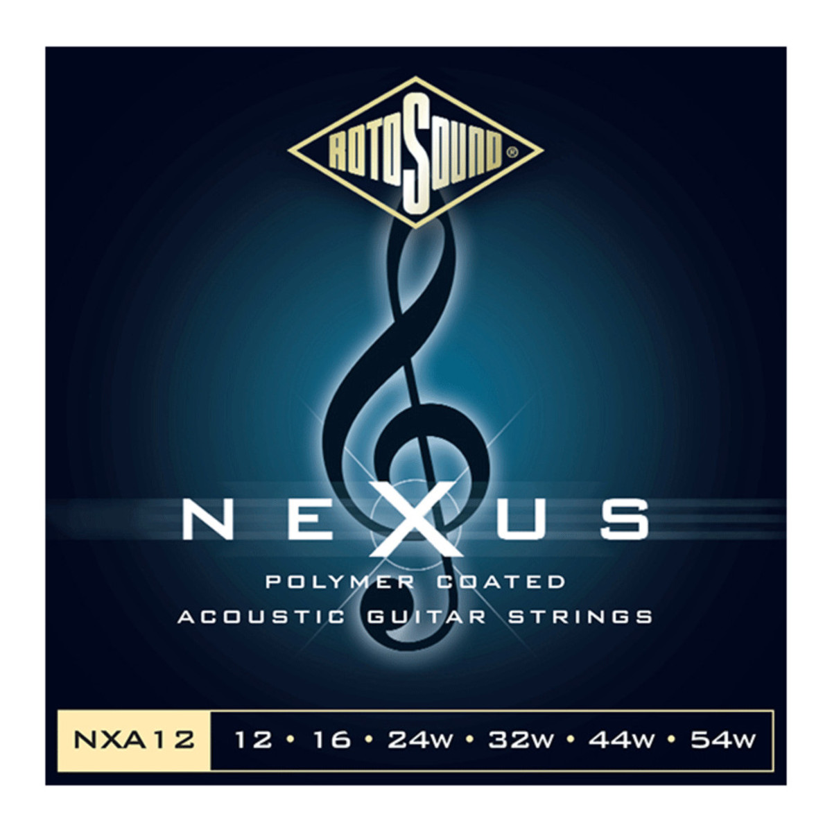 rotosound nexus coated phosphor bronze acoustic guitar strings 12 54 at gear4music. Black Bedroom Furniture Sets. Home Design Ideas