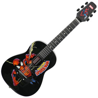 Peavey MARVEL Spider-Man 1/2 Size Acoustic Guitar
