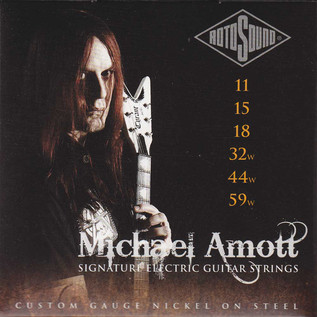 Rotosound MAS11 Michael Amott Signature Guitar Strings, 11-59