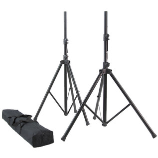 Mackie SRM450 V3 Active PA Speaker Pair with FREE Stands