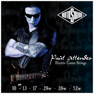 Rotosound PA10 Paul Allender Signature Electric Guitar Strings, 10-52