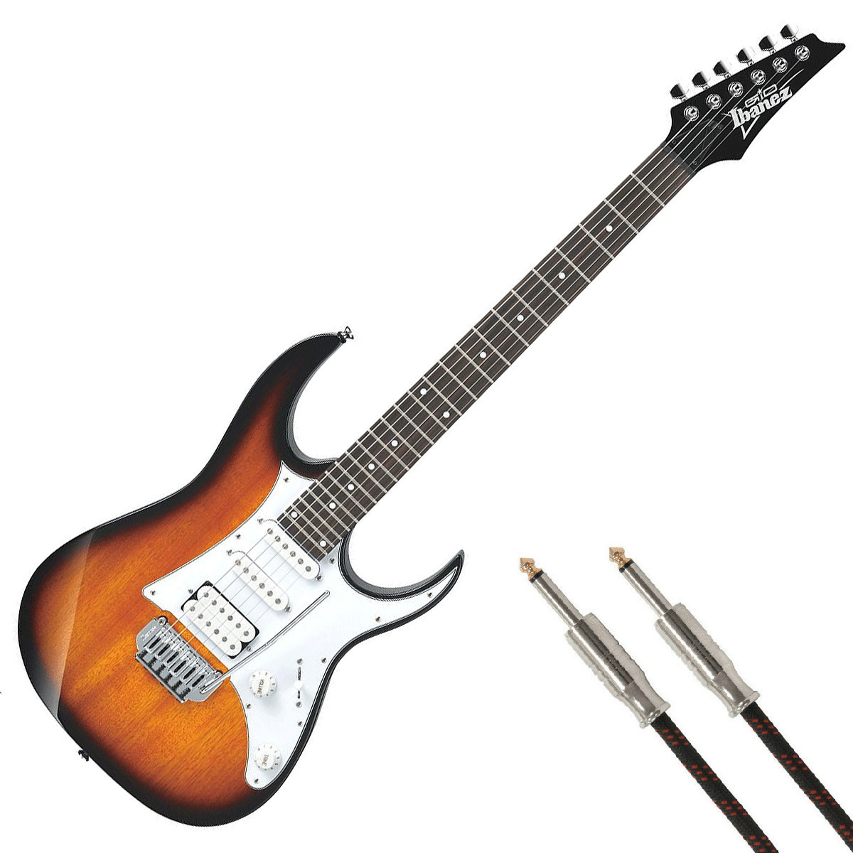Fine Pit Bike Wiring Huge 2 Humbuckers In Series Shaped One Humbucker One Volume Wiring Remote Start Alarm Installation Young 3 Pickup Guitar DarkWiring 1 2 3 Ibanez GRG140 GIO, Sunburst   Free Guitar Cable At Gear4music