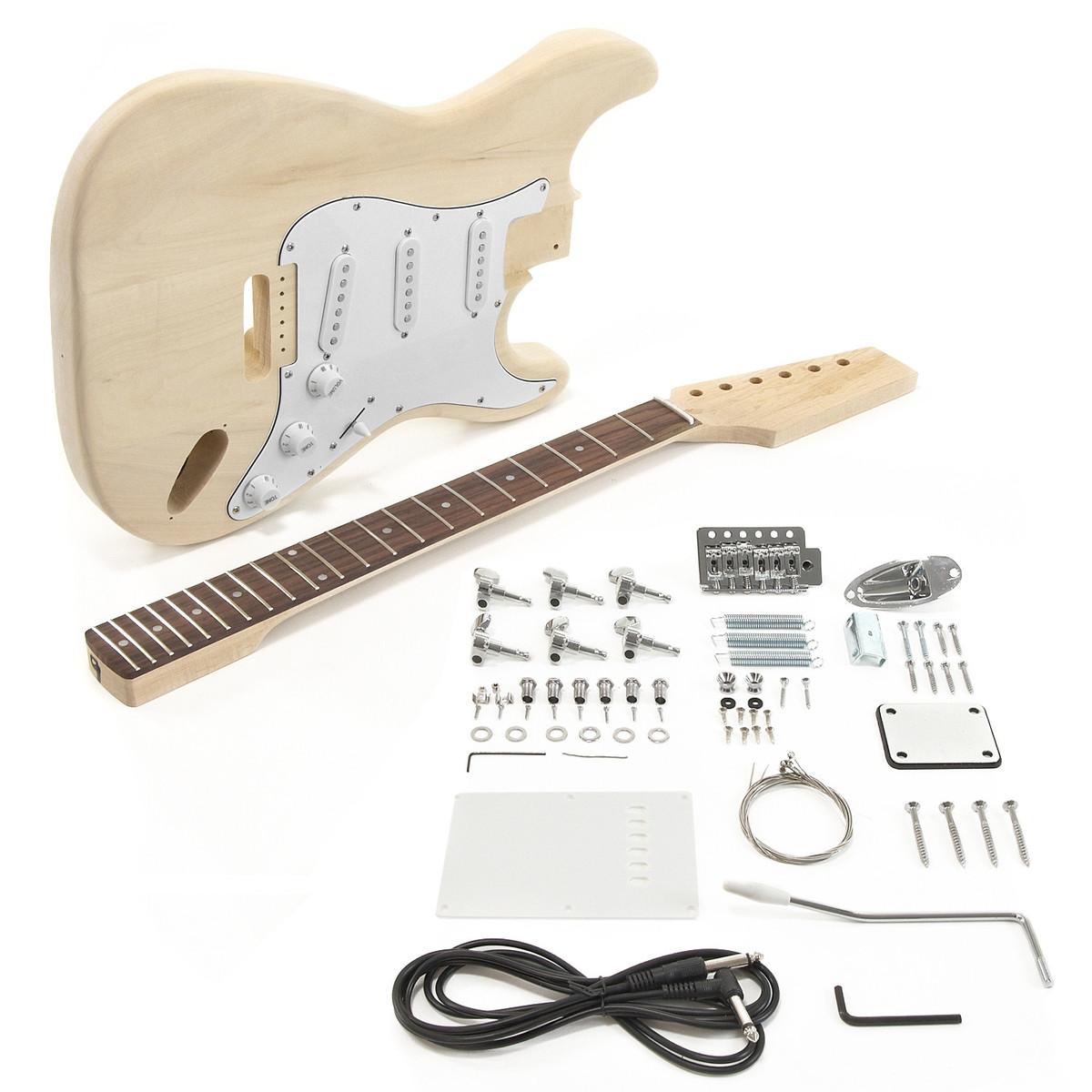 la electric guitar diy kit at gear4music. Black Bedroom Furniture Sets. Home Design Ideas