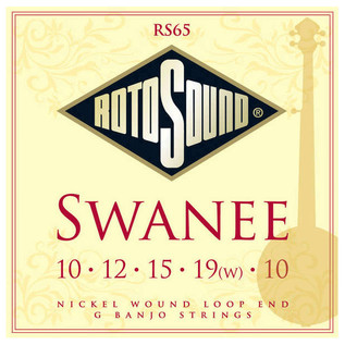 Rotosound RS65 5-string Banjo Strings
