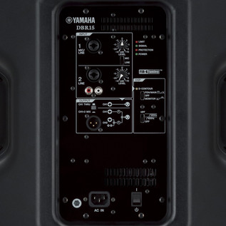 Yamaha DBR15 Active PA Speaker panel